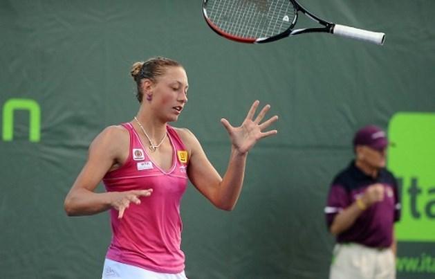 WTA Miami meteen voorbij voor Wickmayer