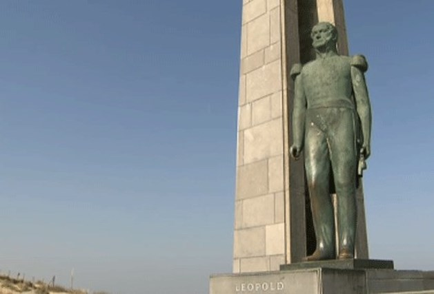Vandalen takelen bekend standbeeld Leopold I toe