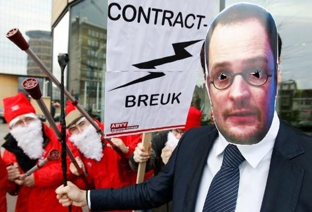 """Vakbonden: """"Niet wachten tot 30 januari voor acties"""""""