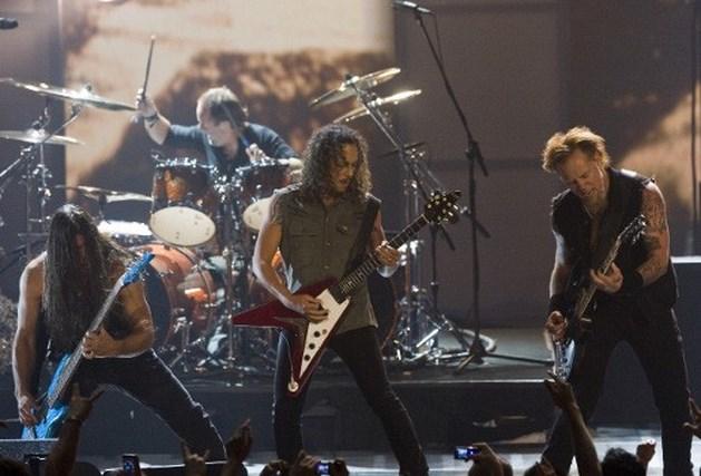 Metallica speelt 'Black Album' in Stade de France