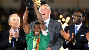 Zambiaan Katongo beste speler Africa Cup 2012