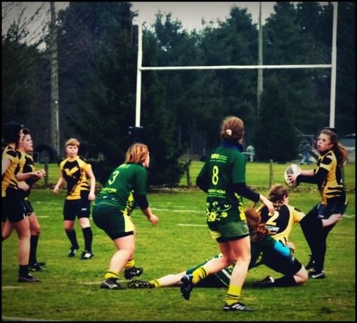 Rugbydames van RFC Murphy's verslaan Maasland
