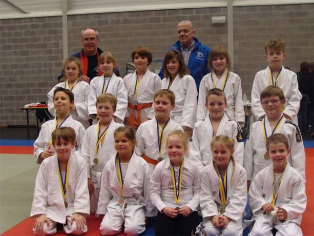 Knappe prestatie Judoteam Agglorex Lommel