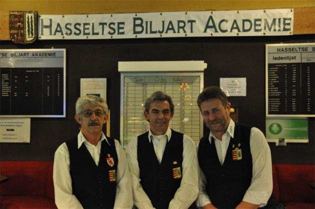 Hasseltse Biljart Academie houdt Limburgse biljarteer hoog