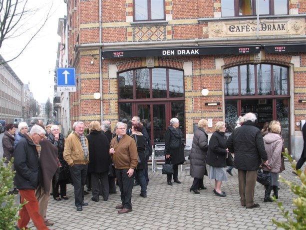 Neos Maaseik op bezoek in Antwerpen