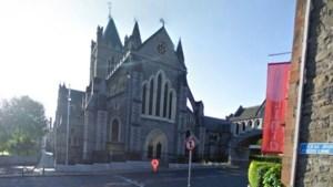 Hart patroonheilige Dublin gestolen uit kathedraal