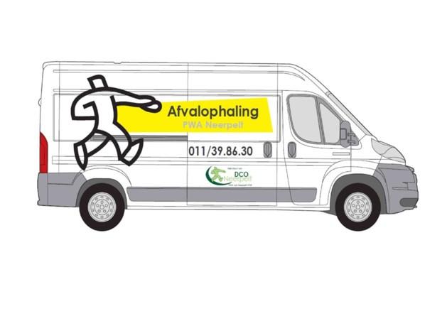 Het PWA vervoert uw afval naar het recyclagepark