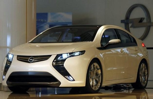 Elektrische Opel Ampera Auto van het Jaar