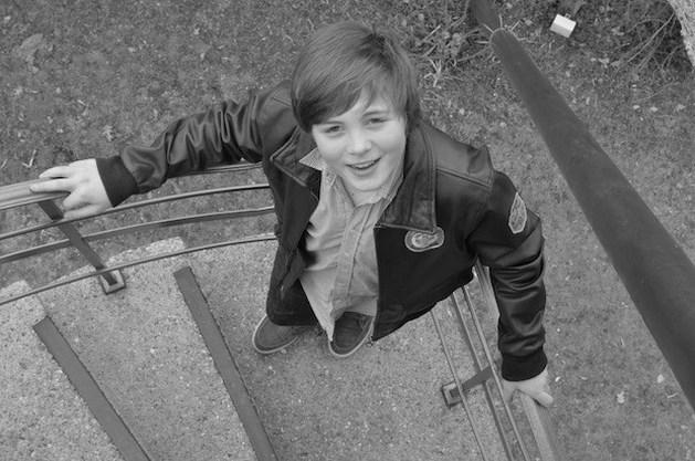 Bilzense acteur Baudouin Wolwertz (13) speelde in 'Rundskop'