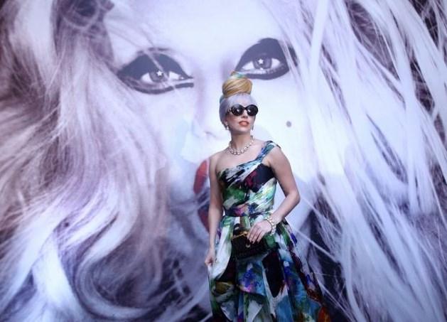 Lady Gaga op 29 september in Sportpaleis