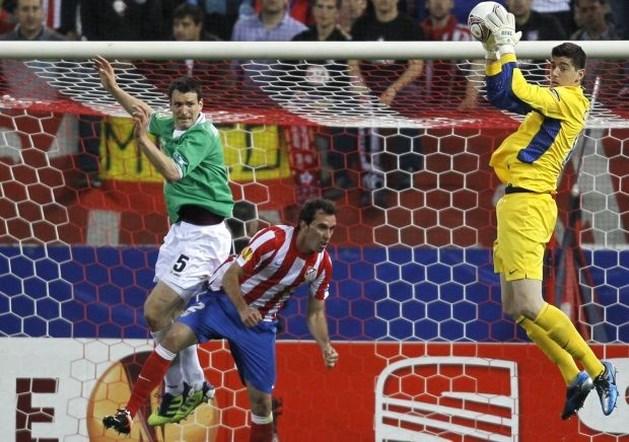 """Thibaut Courtois: """"Nog graag jaartje bij Atlético"""""""