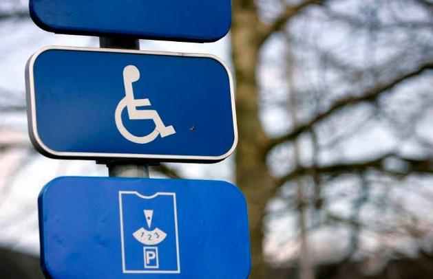 294 overtredingen op parking gehandicapten
