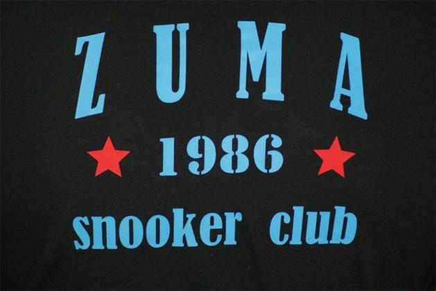 6e Hyprocup gaat van start in Zuma Snooker Club.