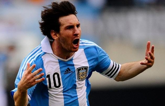 Lionel Messi wordt papa