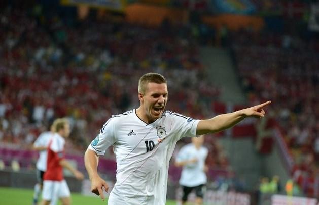 Duitsland verslaat moedig Denemarken