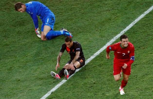 Ronaldo vernedert Oranje