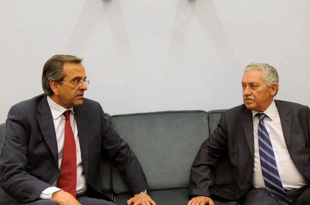 Democratisch-Links bereid in Griekse regering te stappen