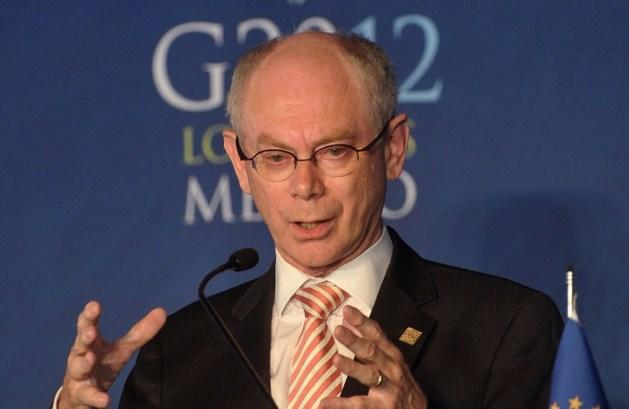 """Van Rompuy: """"Verplichte hervorming pensioenen in EU-landen"""""""