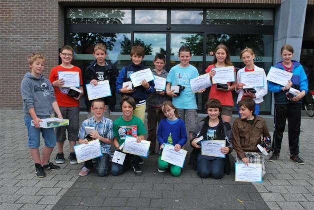 Winnaars jaarlijkse mobiliteitswedstrijd