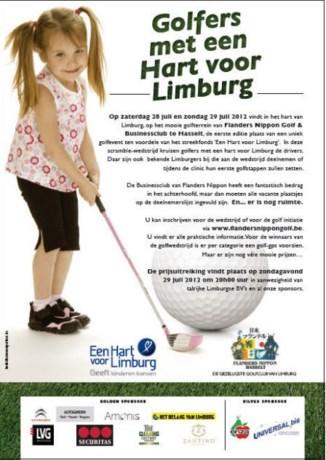 Golfers met Een Hart voor Limburg