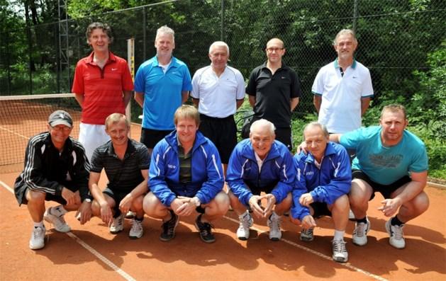 Herenploeg TC Lanaken  45 2de maal  kampioen van Limburg