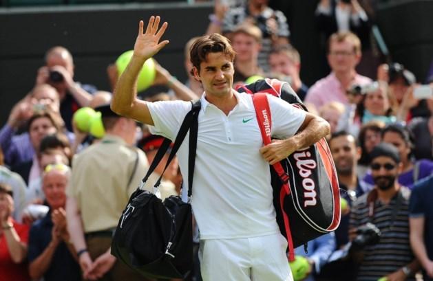 Federer in drie korte sets voorbij Fognini