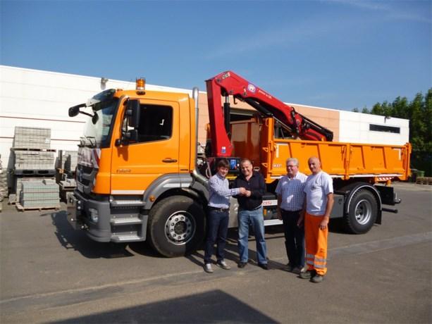 Nieuwe vrachtwagen voor gemeentelijke technische dienst