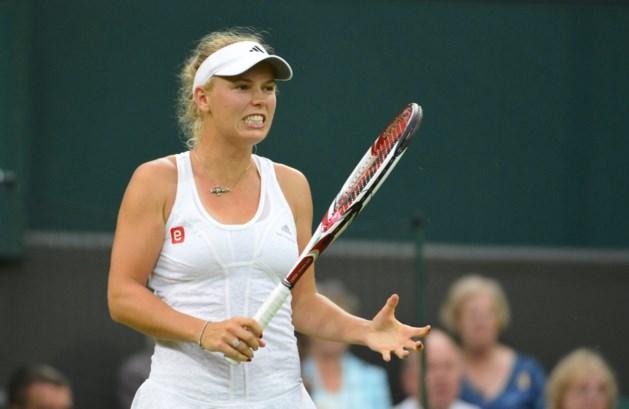 Wozniacki al out in eerste ronde Wimbledon