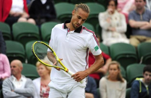 Gasquet te sterk voor Bemelmans in tweede ronde Wimbledon