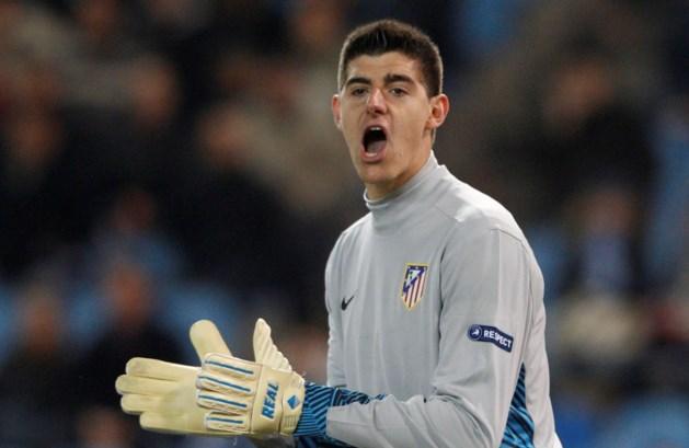 Courtois blijft bij Atlético Madrid