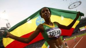 Ethiopische Defar snelt naar goud op 5000 meter