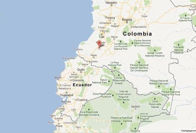 Zware aardbeving treft Colombia
