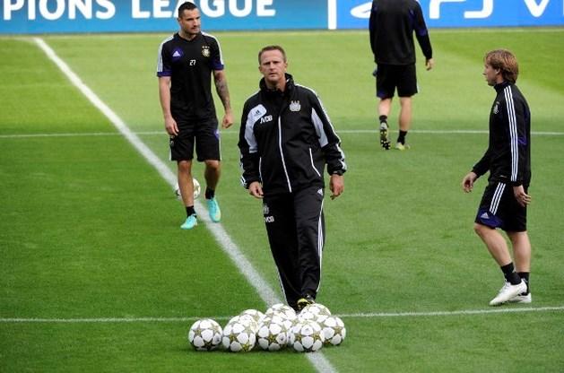 """Anderlechtcoach: """"Buit dat thuisvoordeel uit"""""""