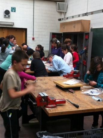 Leerlingen vijfde GO! Europaschool op bezoek bij Middenschool