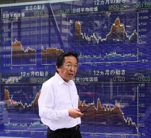 Beurs Tokio verliest 1 pct na weinig opbeurend IMF-rapport