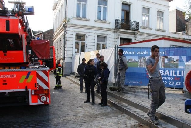 Steekvlam in voormalig Tongers postgebouw
