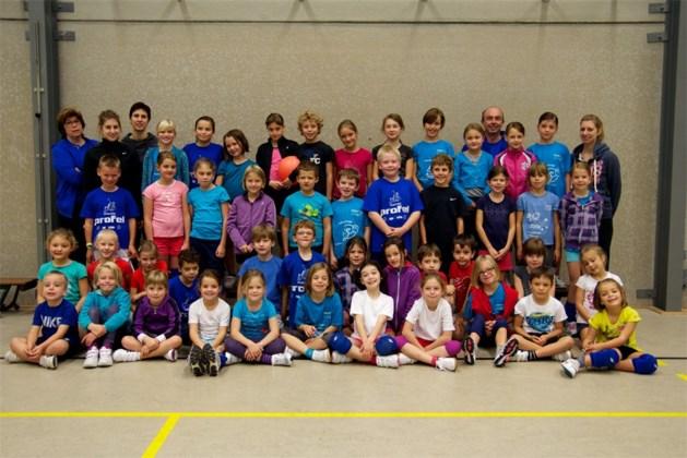 Volleybalschool Stalvoc Beverlo op de foto