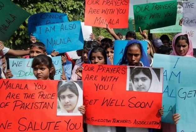 Premie op hoofd van dader van moordpoging op 14-jarige Malala