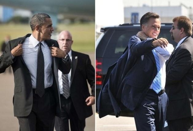 Romney zit Obama op de hielen in nieuwe peiling