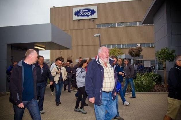 """Vakbonden Ford Genk vrezen woensdag """"zware aankondiging"""""""