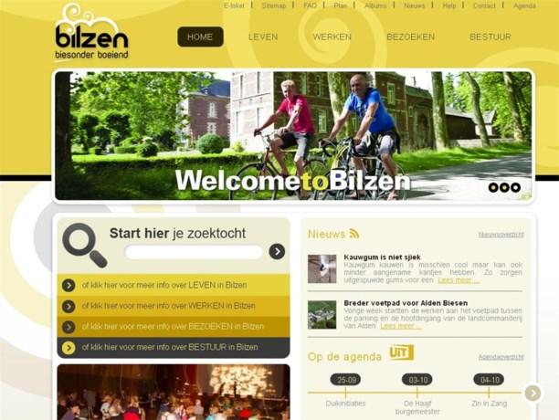 Stad Bilzen lanceert nieuwe website