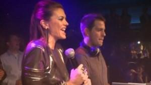 Astrid Bryan en 'de Lau' feesten in de Carré (video)