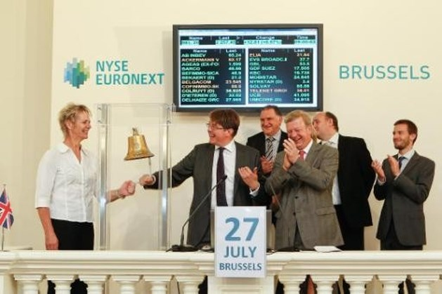 Brusselse beurs start week met licht verlies