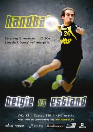 Drie NeLo-spelers in voorselectie voor interland België-Estland