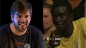 Bart Cannaerts in de clinch met Afrikaan (video)