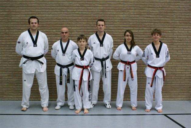 Zwarte Gordels Taekwondo in Kinrooi