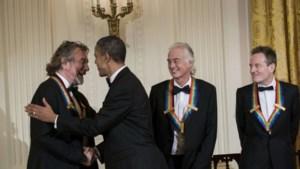 Led Zeppelin op bezoek bij president Obama