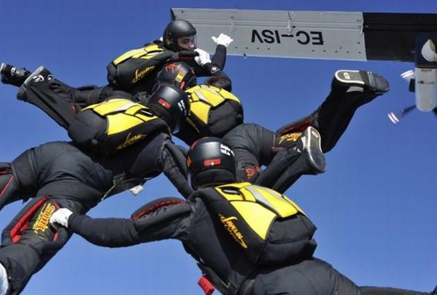 Belgische parachutisten nipt tweede op WK Skydiving