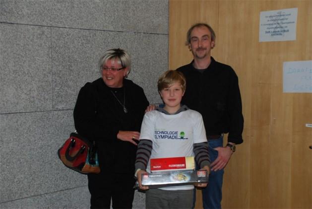 Timen wordt tweede op Vlaamse Jeugd Technologie Olympiade