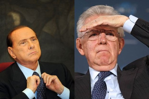"Berlusconi vindt Monti ""te Duits"""